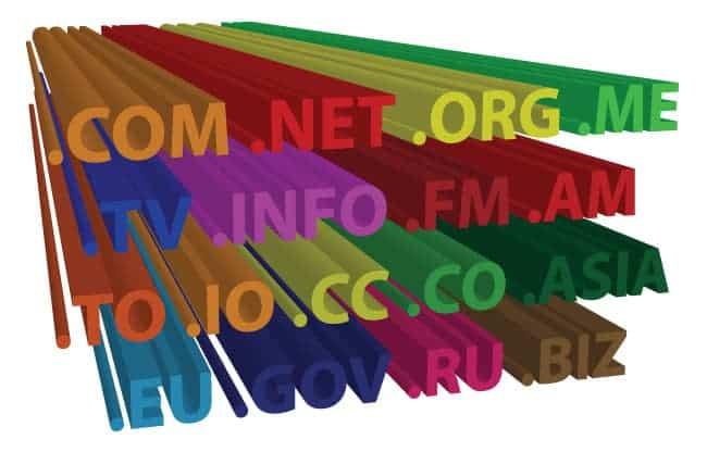 Φώτο με 3d domain name (.com, .net, .org, .me, .info, .eu κλπ)